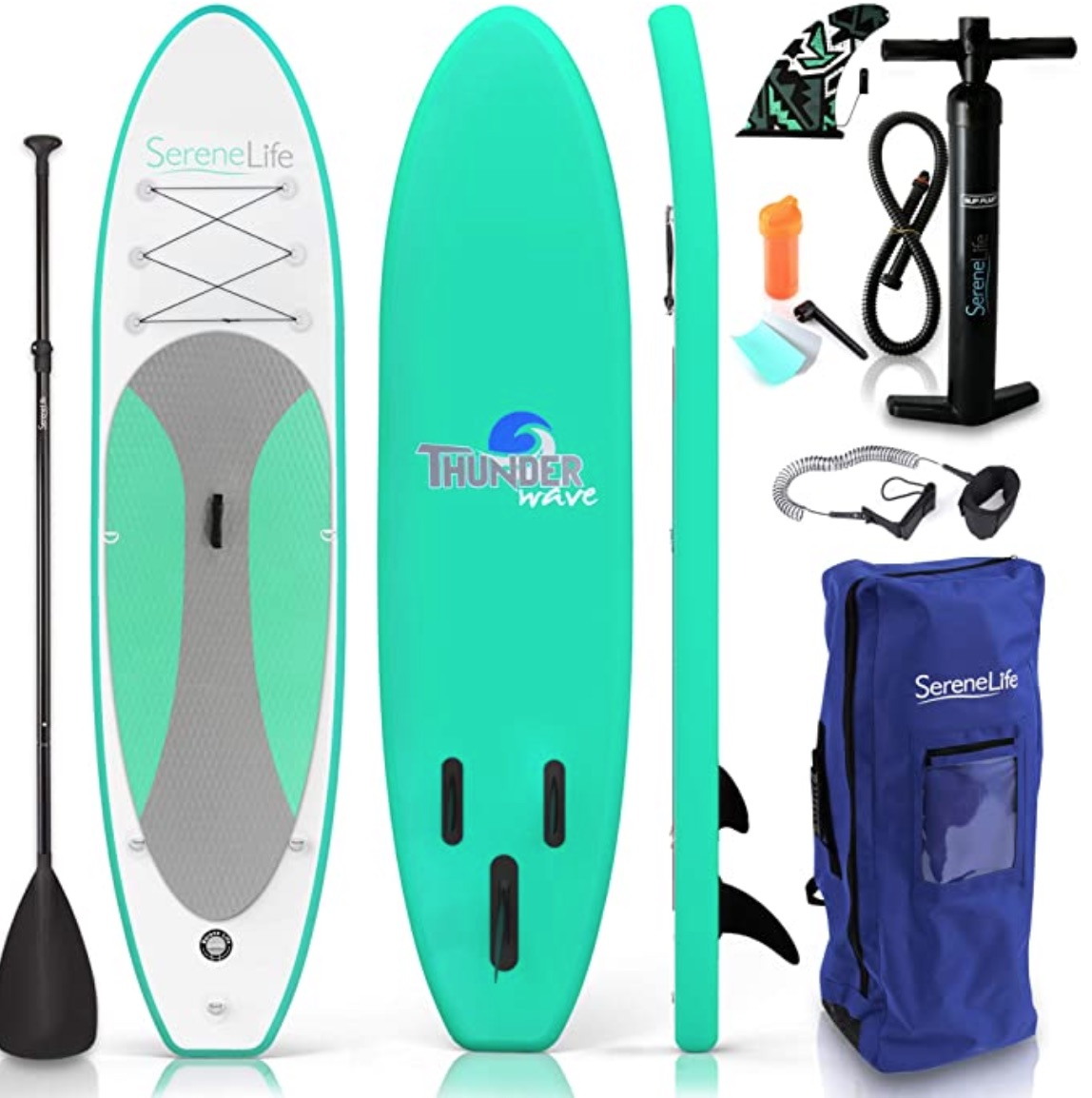 free flow thunderwave paddle board by serenlife