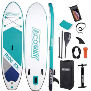 ACOWAY Inflatable SUP Stand Up Paddle Board