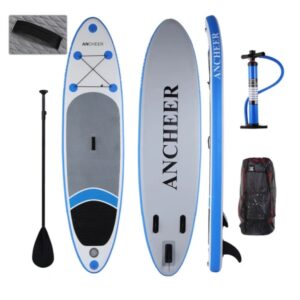 Ancheer SUP inflatable paddleboard review