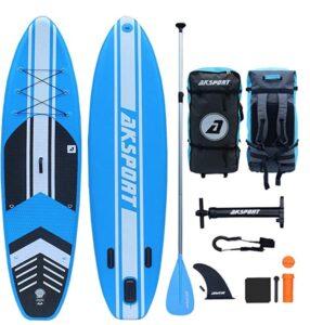 "Aksport 10'6"" paddle board review"