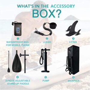 feath-r-lite paddle board SUP accessory list