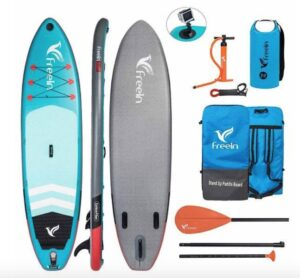 Freein Explorer SUP Review 10 and 11 Foot Paddle Board