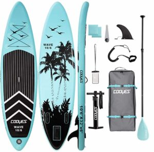 Cooyes 10'6 Inflatable SUP Review Summary