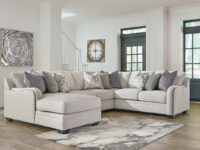 Dellara 4 Piece LAF Chaise Sectional