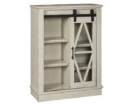 Bronfield White Accent Cabinet ASLY A4000133