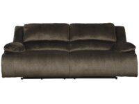 Clonmel Chocolate Recliner Sofa (Front View)