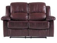 Cranley Brown Recliner Loveseat AGA 9700BRW-2
