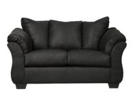 Darcy Black Loveseat ASLY 7500835