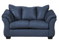 Darcy Blue Loveseat ASLY 7500735