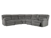 Malmaison 4-Piece Power Recliner With RAF Console Sofa 45002-58-46-77-73