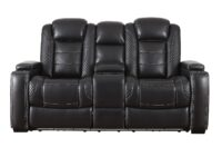 Party Time Power Recliner Loveseat (Front View) ASLY 3700318