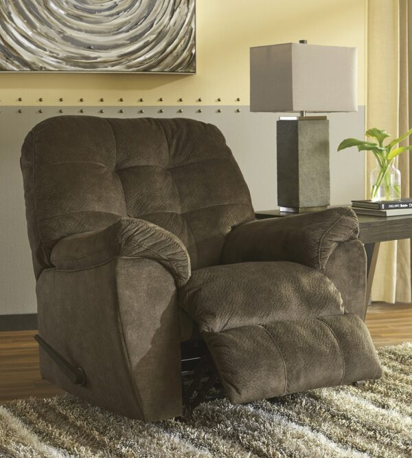 Accrington Earth Rocker Recliner Chair (Room View)