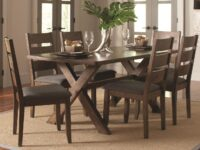 Alston 7-Piece Dining Set (Room View) CST 106381