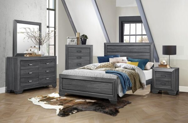 Beechnut Grey Bedroom Collection With Chest AGA 1904GY