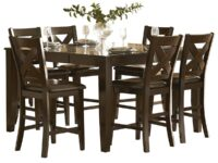 Crown Point 7-Piece Counter Dining Set AGA 1372-36