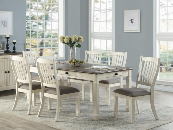 Granby 7-Piece Dining Set AGA 5627NW