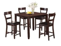 Henderson Espresso 5-Piece Counter Dining Set CR 2754SET