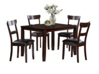 Henderson Espresso 5-Piece Dining Set CR 2254SET