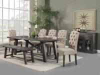 Newberry 7-Piece Dining Set ALP 1468