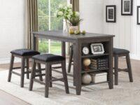 Timbre Grey Counter Dining Set AGA 5603