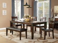 Wayne 6-Piece Dining Set (Room View) AGA 5547-78