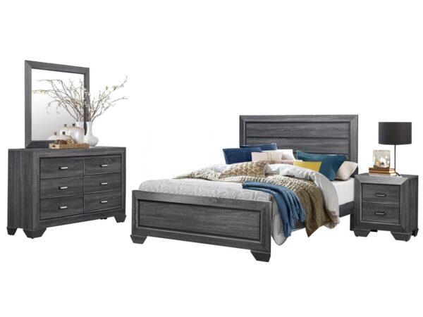 Beechnut Gray 4-Piece Bedroom Set