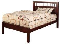 Carus Cherry Platform Bed FOA CM7904CH