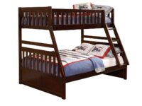 Rowe Cherry Twin Over Full Bunk Bed AGA B2013TFDC