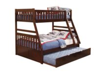 Rowe Cherry Twin Over Full Bunk Bed With Trundle AGA B2013TFDC-1-R