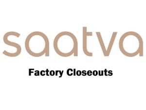 Saatva Logo Factory Closeout