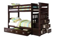 Steinfort Twin Over Twin Staircase Bunk Bed A 10170