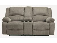 Draycoll Pewter Recliner Loveseat ASLY 7650594
