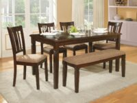 Devlin 6-Piece Dining Set (Room View) AGA 2538