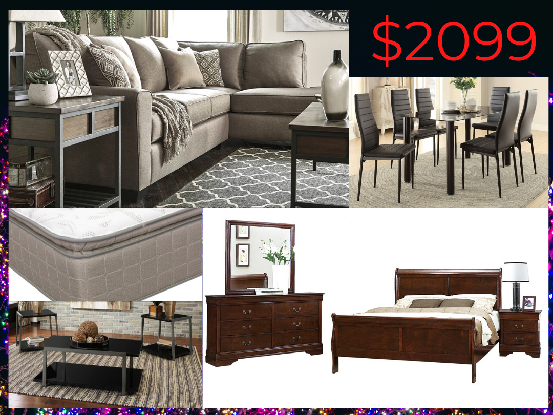 2099 Whole House Furniture Package Deal