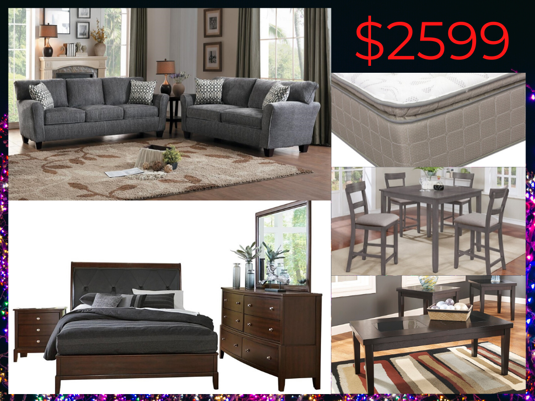 2599 Whole House Furniture Package