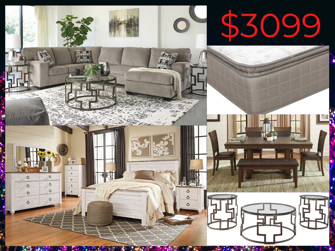 3099 Whole House Furniture Package
