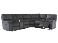 Urbino Charcoal Recliner Sectional ASLY 57201-76-77-85