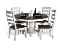 Carriage House Round 5-Piece Dining Set SD 1014EC