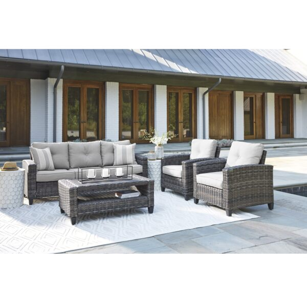 Cloverbrooke 4-Piece Outdoor Seating Set (Room View)