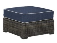 Grasson Lane Outdoor Ottoman ASLY P783-814