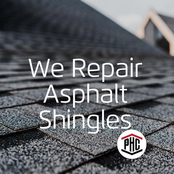 asphalt shingle repair Rio Rancho