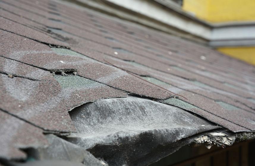 repair damaged asphalt shingles in ABQ