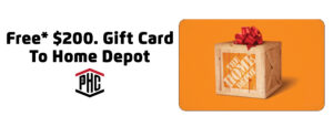 Free Gift Card To Home Depot