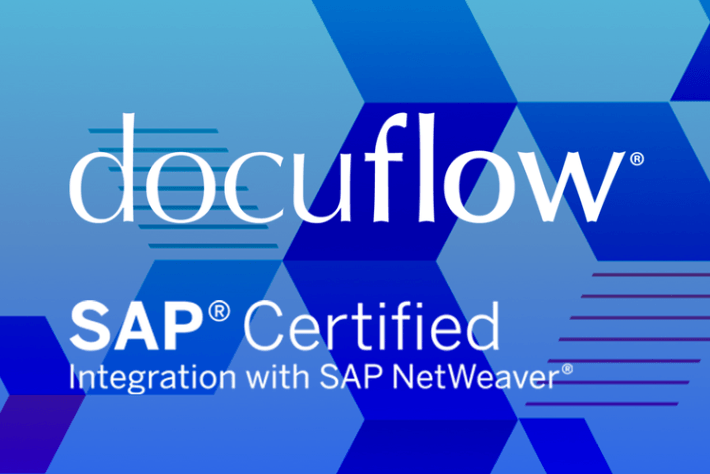 VersaFile Docuflow achieves certification with SAP Netweaver.