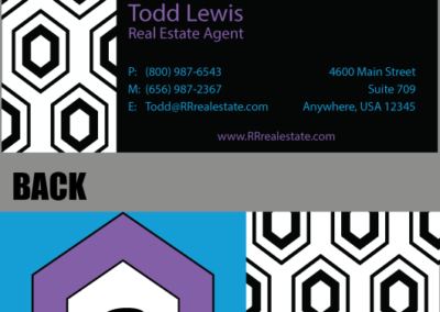 Renee Roberts Business Card (front & back)