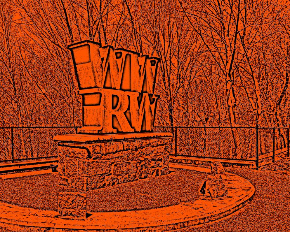 West Warwick River Walk Sign