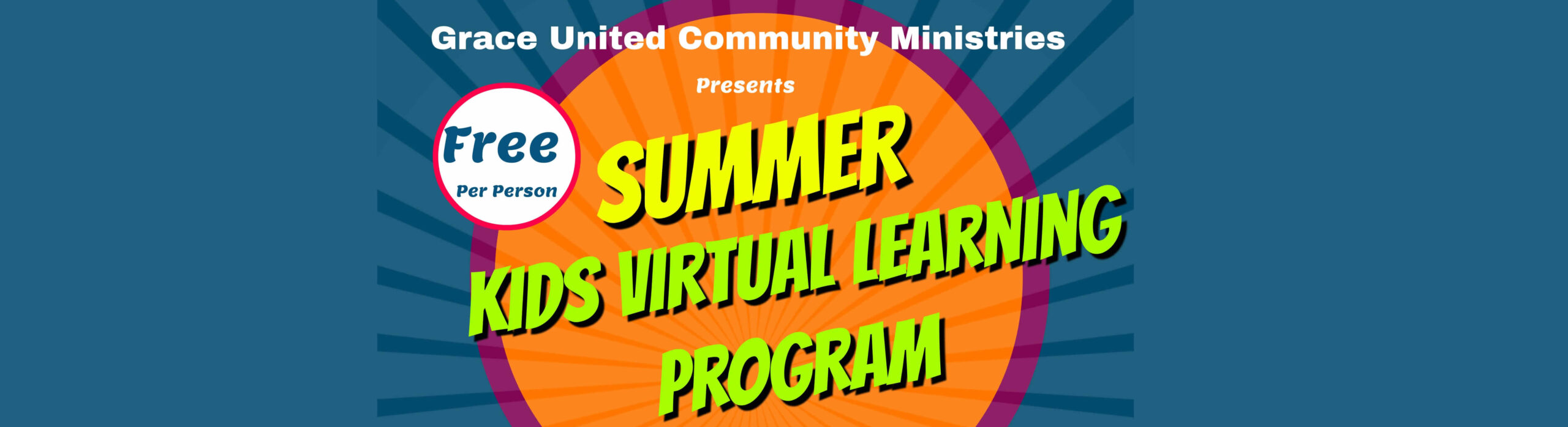 Kids Summer Camp Flyer 2020 banner