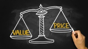 price vs value