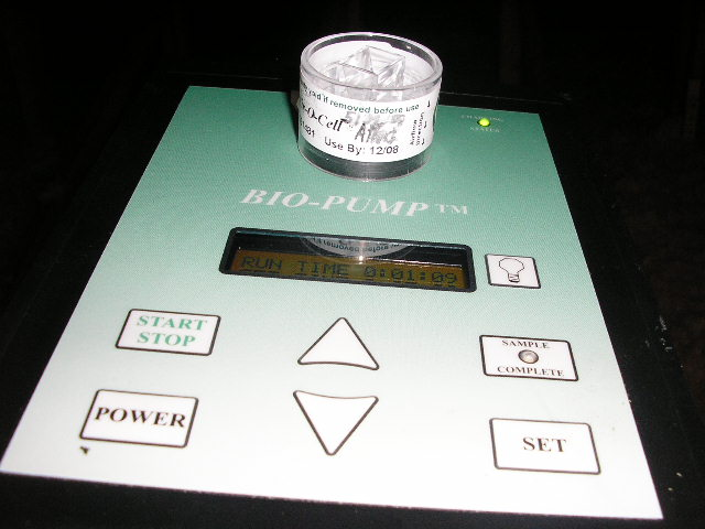 mold testing sample