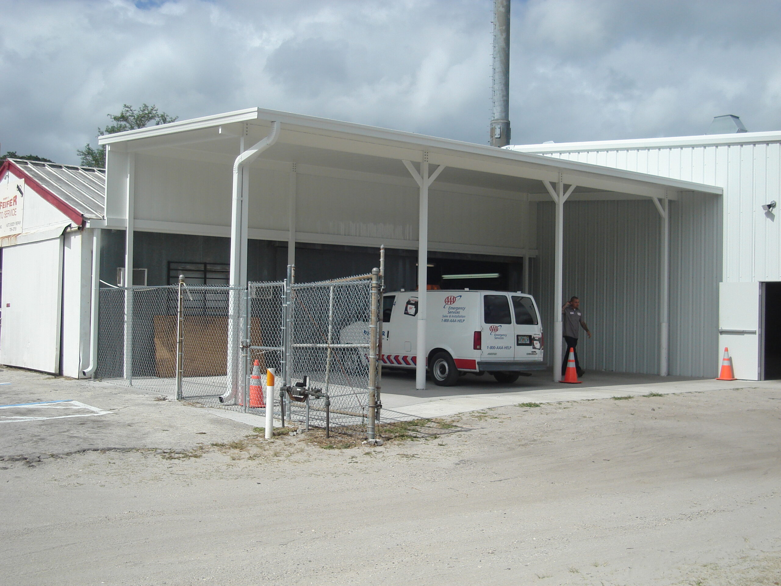 aluminum carports and canopies